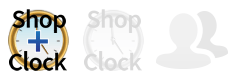 This page applies to  ShopClock Plus